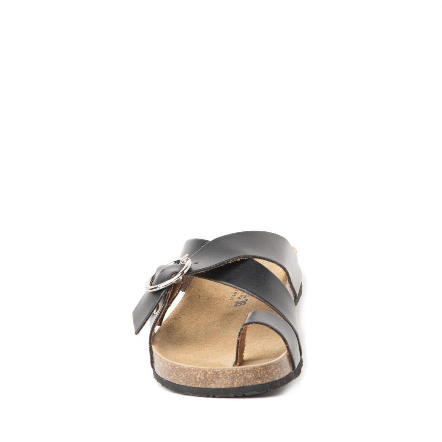 Moods Shoes Γυναικεία Παπούτσια Slip On 1003 Nude Δέρμα