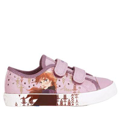 Παιδικά Sneakers Geox Frozen Κορίτσι JR Ciak Girl Ροζ