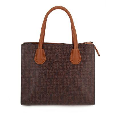 Γυναικεία Τσάντα Ώμου Exe I714 Καφέ Στάμπα