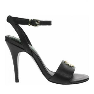 Γυναικεία Πέδιλα Tommy Hilfiger Th Hardware High Heel Sandal FW0FW05028 Black BDS