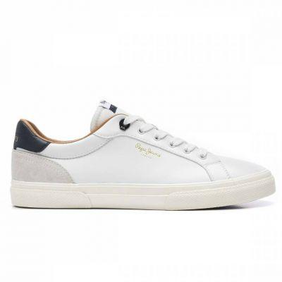 Ανδρικά Sneakers Pepe Jeans PJ M Kenton Classic Man PMS30675-800 Λευκό