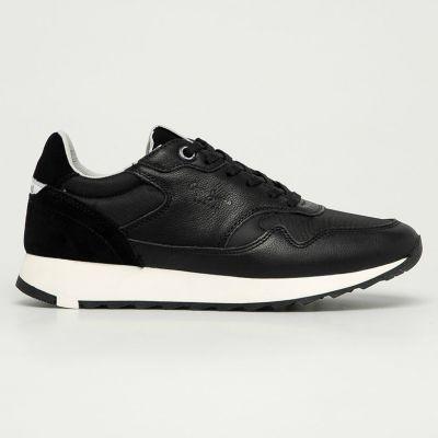 Ανδρικά Sneakers Pepe Jeans Slab Urban Μαύρο PMS30689 999