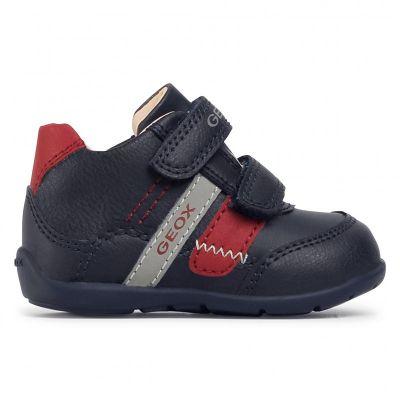 Παιδικά Sneakers Geox Αγόρι B Elthan B041PA 0MEBC C0735 Navy/Red