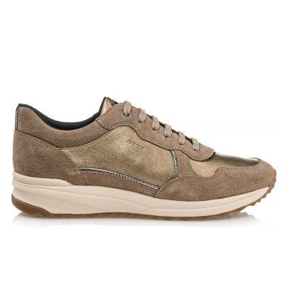 Γυναικεία Sneakers Geox Airell Tobacco/Dk Beige D042SA 0AJ22 CR65M