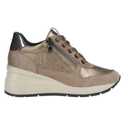 Γυναικεία Sneakers Geox Zosma DK Beige/Tobacco D048LB 02285 C5MR6