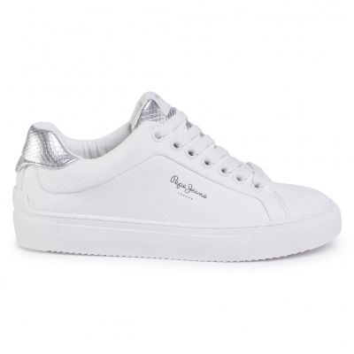 Γυναικεία Sneakers Pepe Jeans Adams Lamu PLS30959 White 800