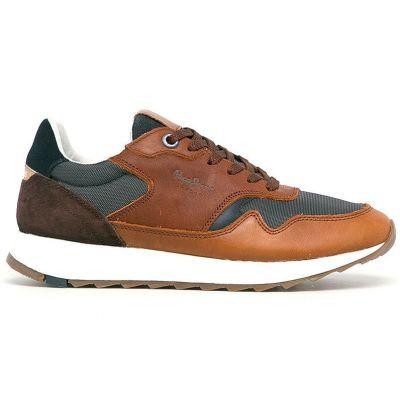 Ανδρικά Sneakers Pepe Jeans Slab Urban Ταμπά PMS30690 869