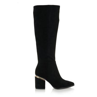 Γυναικείες Μπότες Exe K1512-7560 Μαύρο Καστόρι