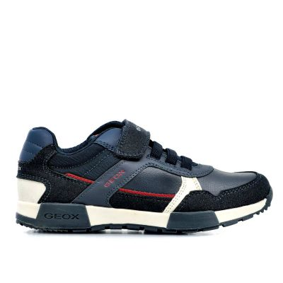Παιδικά Sneakers Geox Αγόρι J Alfier Boy J046NA 0BUAF C4244 Navy Dark Red (30-35)