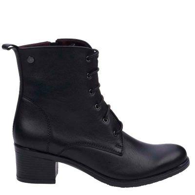Γυναικεία Μποτάκια Ragazza 0361 Μαύρο Δέρμα