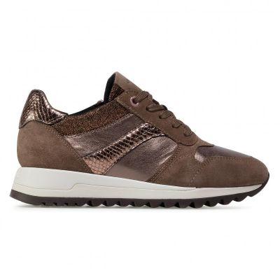 Γυναικεία Sneakers Geox Tabelya D04AQA 0Y222 C5005 Dk Beige
