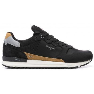 Ανδρικά Sneakers Pepe Jeans Tinker Pro Racer 0.4 Μαύρο PMS30652 999