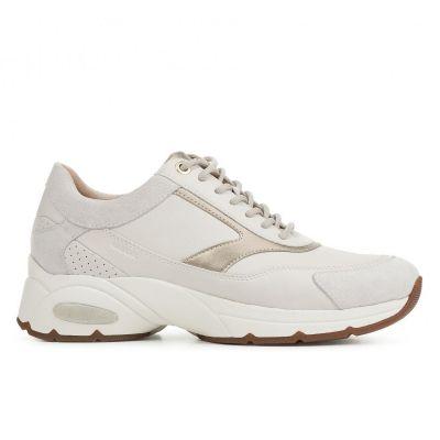 Γυναικεία Ανατομικά Sneakers Geox Alhour D94FGA 08520 C1002 Λευκό
