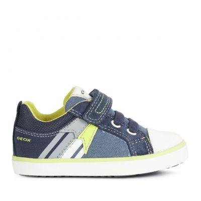 Παιδικά Ανατομικά Sneakers Geox Αγόρι Kilwi B15A7B 01022 C4B2H Μπλε (24-27)