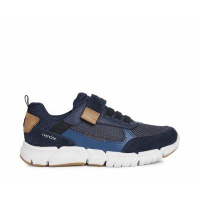 Παιδικά Ανατομικά Sneakers Geox Αγόρι Flexyper J159BB 01422 CF46N Μπλε (28-35)