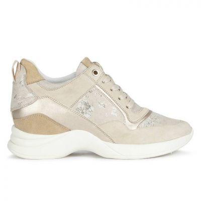 Γυναικεία Ανατομικά Sneakers Geox Armonica D04HVA 022MA C5000 Μπεζ