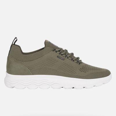 Ανδρικά Ανατομικά Sneakers Geox Spherica U15BYA 0006K C3704 Λαδί