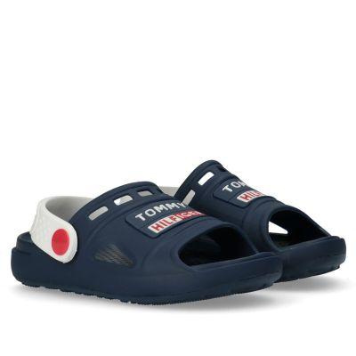 Παιδικά Σανδάλια - Πέδιλα Tommy Hilfiger Αγόρι Velcro Sandal T1B2-31115-0083 X007 Μπλε (27-31)
