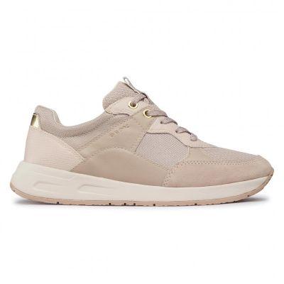 Γυναικεία Ανατομικά Sneakers Geox Bulmya D15NQB 01422 C5000 Μπεζ
