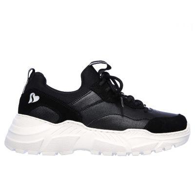 Γυναικεία Sneakers Skechers Block And Pop 74246-BLK Μαύρο