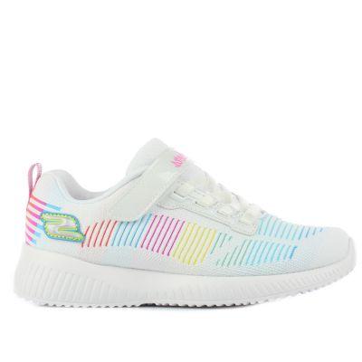 Παιδικά Sneakers Skechers Κορίτσι Fresh Delight 302379L/WMLT Λευκό