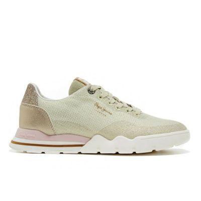 Γυναικεία Sneakers Pepe Jeans Siena Woven PLS31126 099 Χρυσό