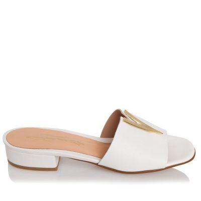 Γυναικεία Πέδιλα Flat Sante 21-200 Λευκό