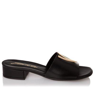 Γυναικεία Πέδιλα Flat Sante 21-200 Μαύρο