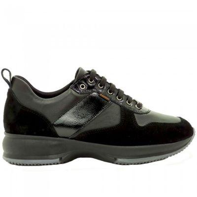 Γυναικεία Ανατομικά Sneakers Ragazza 0240 Μαύρο