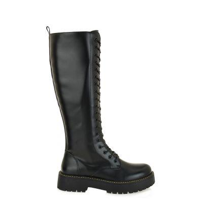 Γυναικείες Combat Boots Exe Y19209-10A Μαύρο N234Y9102001