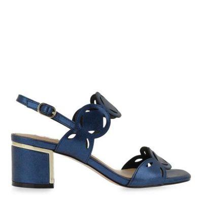 Γυναικεία Πέδιλα Exe Isabel-570 Μπλε Μεταλλικό M47000613633