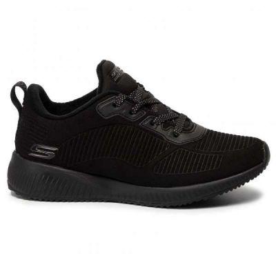 Γυναικεία Sneakers Skechers Bobs Sport Team Boss Μαύρο 32505/BBK